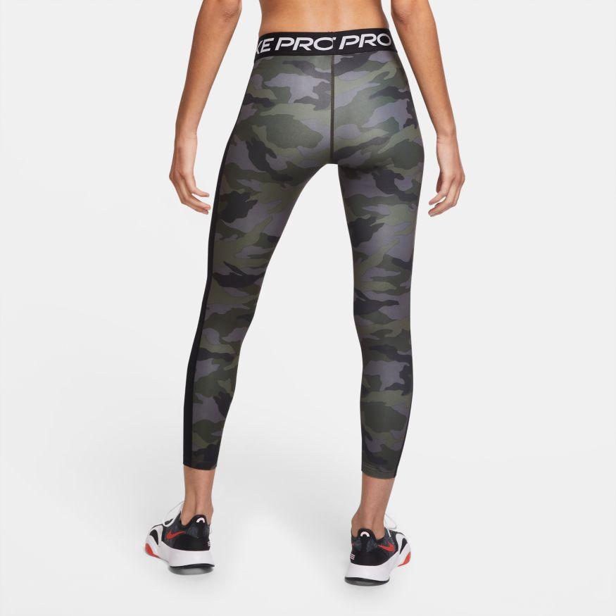Nike Pro - Women's 7/8 Camo Tights S
